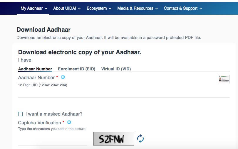 PaisaExpo Aadhaar Download